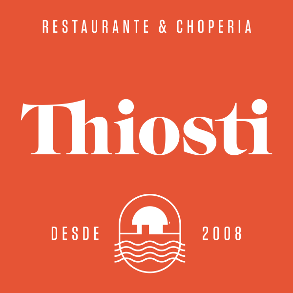 Logomarca THIOSTI CHOPERIA E RESTAURANTE