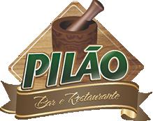 Logomarca PILÃO BAR E RESTAURANTE