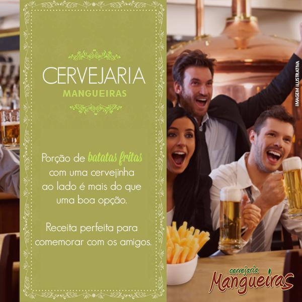 DRINKS & DRINKS é na Cervejaria Mangueiras